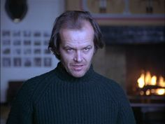 "Jack Nicholson as Jack Torrance in ""The Shinning"", 1980."