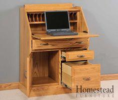Secretary Desk w/ File Drawer. http://homesteadfurnitureonline.com/secretary-desk_secretary-desk-file-drawer.html