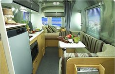 airstream sport interior