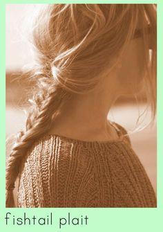 Fishtail Braid // 10 of the Best Hair Tutorials hair tutorials, crowns, plaits, ears, hair style, fishtail braids, style collect, fishtail plait