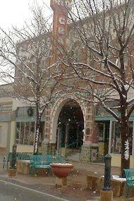 Rio Grande Theatre and Snow Main St.