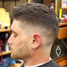 Cool hairstyle ideas, barber fade, beard, mens hairstyles fade, men haircut, barber cuts, men's hairstyles