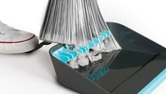 Broom Groomer. A Sweeping Improvement In Dustpans. $12.00