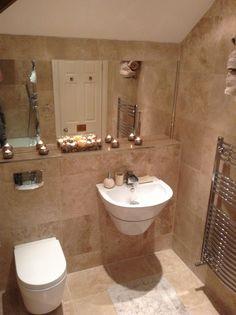Wc ideas on pinterest 62 pins Bathroom tiles ideas homebase