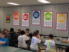 Boosterthon Camp High Five @ Bryant Elementary, Tampa FL 10/2013 Lunchroom Posters