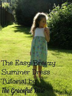 Easy Breezy Dress Tutorial