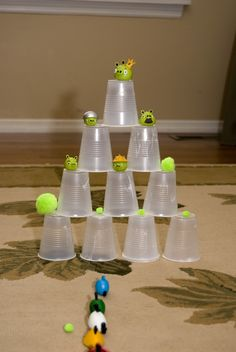 party games, bird parti, bird party, bowling, bird theme, parti idea, birds, angri bird, kid