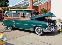1951 Chevrolet woody station wagon