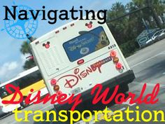 How to navigate with Disney World transportation - getting between WDW locations, transportation map