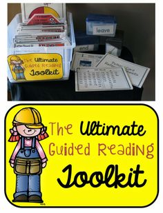 The Ultimate Guided Reading Toolkit BUNDLED with Guided Reading Lesson Plans GIVEAWAY!!