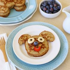 Banana Pancake Buddies (GF) - pancakes the whole family will LOVE!