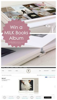 Win a MILK Books Alb