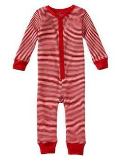 Striped thermal one-piece | Gap