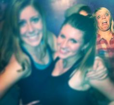 photo bombing level: disgusting