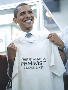 Male Feminists: Barack Obama