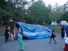 Trunk or treat. Jonah and the Whale