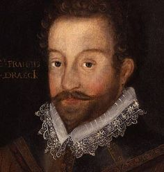 Sir Francis Drake (1543-1596). Amazing sea captain and adventurer, Drake was the second man to circumnavigate the Earth. He conceived and in practice commanded Britain's impressive defense against the Spanish Armada (1588). His darkest stain: for some years he practiced slave trade in Africa with his uncle admiral Howard.