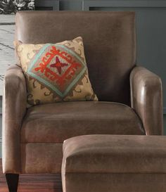Seek an intelligently proportioned getaway  with an expansive seat perfect for curling up with a good book or taking in a movie.| Grandin Road Color Crush on Burnt Orange