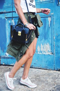 Nueva_Orleans-Adidas_Top-Parka-French_Braid-Outfit-Converse-Sporty-Chic-Street_Style-55 nice bag