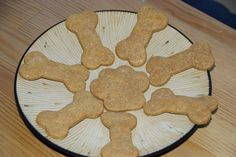 Peanut Butter Dog Treats:  Very easy treats made with your pup's favorite food!