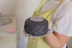 Mini tire cake!
