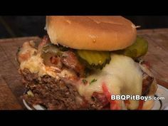 Fire up that Barbecue Grill of yours because these Bacon Cheeseburgers are quick and easy to do and perfect for that tailgating or backyard Que. And when it comes to juicy and tasty beef burgers, the fast food competition doesn't have a chance, if you follow these few simple tips by the BBQ Pit Boys.