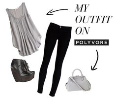 """""""grey"""" by nicole-carter on Polyvore"""