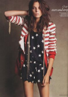 The perfect patriotic outfit!
