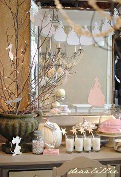 Cinderella birthday decorations