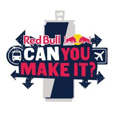 An explanation of how the Red Bull 'Can you make it?' competition works!