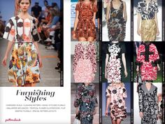 Catwalk Print & Pattern Trend Report Spring/Summer 2014 PDF Download trend forecasts catwalks