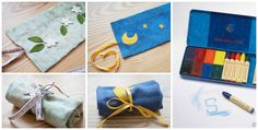 Bella Luna Toys Give-Away :: Crayon Roll & Beeswax Crayons | Wee Folk Art