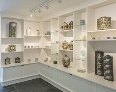 John Bedding exhibition at the Leach Pottery.