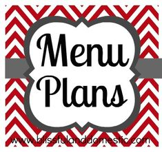 Are you looking for an easy peasy way to menu plan? Below you will find weekly menu plans with printable shopping lists and recipes.