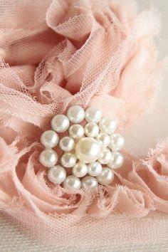 Pretty Handmade Flower Ꮗ/Pears~❥