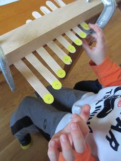 Relentlessly Fun, Deceptively Educational: DIY Craft Stick Piano