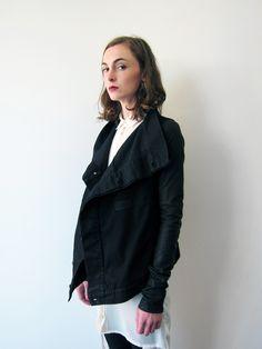 . jacket, fashion, style, rick owens