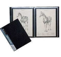 Global Art Art-Folio Presentation Book- 13x19 Inch (DOES NOT INCLUDE BLACK PAPER INSERTS)