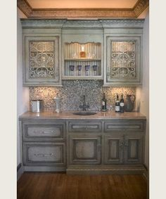 Habersham Home DACIER BUTLER PANTRY                                                                                                                                                                                                                                        	Item Number: KK-DACBP1