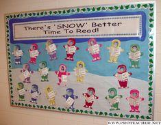 January Reading Bulletin Board