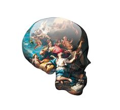 Saatchi Online Artist Magnus Gjoen  Vexel  2012  Digital  Skull Victory Over Ignorance $930 onlin artist, artist magnus