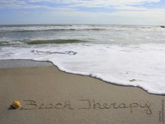 Beach Therapy - yep ❤️