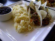 Crispy Chicken Tacos @ Village Tavern