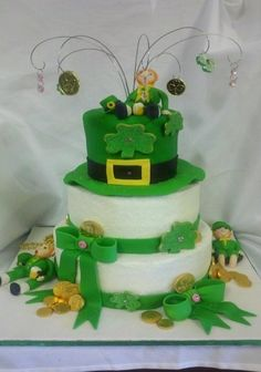 St. Patty's Day Bday By lming on CakeCentral.com