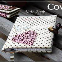 Heart Note Book Cover