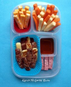 Lunch Made Easy: Five, Six, Pick Up Sticks!   Bento Lunchbox Ideas for Kids! *Finger Foods*