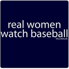 real women watch baseball and wear #stellavalle
