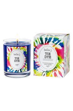 bella j 'Tie Dye' Candle | Nordstrom