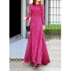 Wholesale Stylish Women's Solid Color High-Waisted Floor-Length Skirt (WINE RED,ONE SIZE), Skirts - Rosewholesale.com
