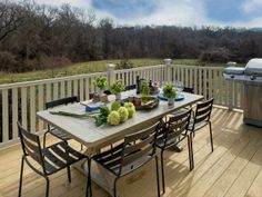Designed to take advantage of the rolling Tennessee hills, this outdoor grill station and dining space provides a relaxed spot to host parties or enjoy a morning cup of coffee--> http://hg.tv/v8do